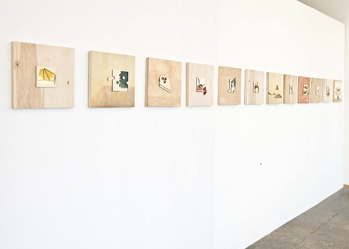 Inventory of architectural forms: Drawings Installation View (2013)