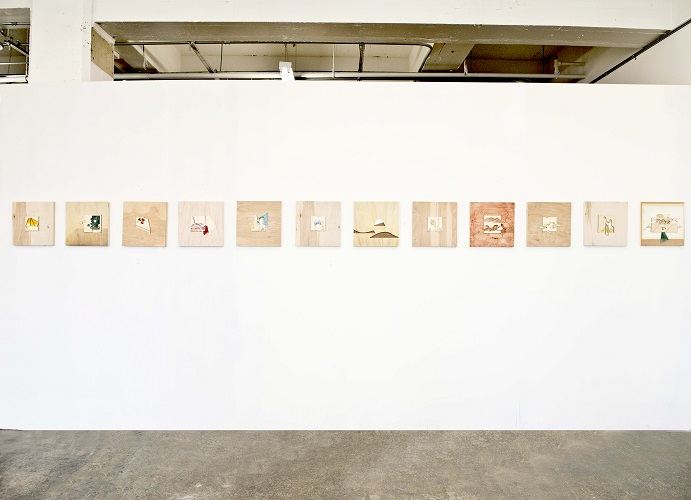 Inventory of architectural forms: 2D Installation View (2013)