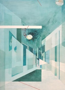 City Series: Painting #2 (2011) 70 x 100cm