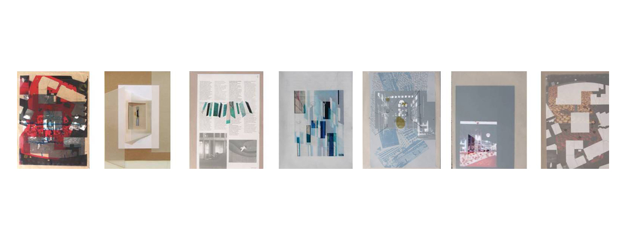 City Series: Drawings (2011)  Mixed Media on Paper, 23×30.5cm